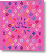 Louis Vuitton Monogram-9 Metal Print