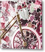 Love Courier Metal Print