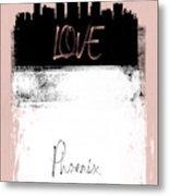 Love Phoenix Metal Print