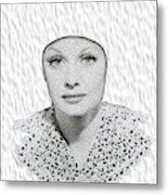 Lucille Ball 2a Metal Print