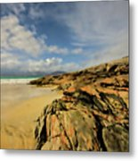 Luskentyre Digital Painting Metal Print