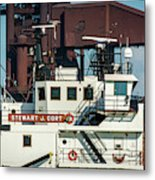 M/v Stewart J. Cort Metal Print