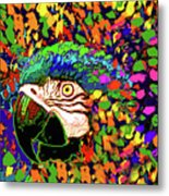 Macaw High I Metal Print