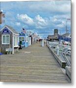 Macmillan Pier Provincetown Cape Cod Massachusetts 01 Metal Print