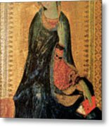 Madonna Of The Annunciation Metal Print