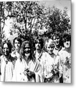Maharishi And Pop Stars Metal Print