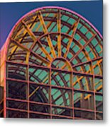 Mall Sundown Metal Print