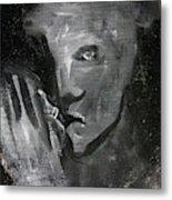 Man In The Dark Metal Print