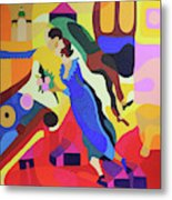 Marc And Bella Chagall Metal Print