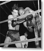 Marcel Cerdan And Holman Williams Boxing Metal Print