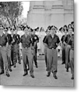 Marchers And Convent Members Metal Print