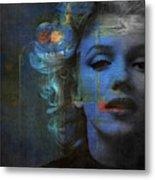 Marilyn Monroe - Retro  Metal Print