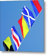Maritime Signal Flags Metal Print
