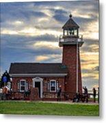 Mark Abbott Memorial Lighthouse And Santa Cruz Surfing Museum Metal Print