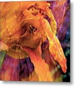 Marmalade Bloom Metal Print
