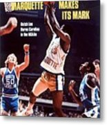 Marquette Butch Lee, 1977 Ncaa National Championship Sports Illustrated Cover Metal Print