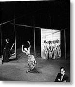 Martha Dances Metal Print