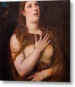 Mary Magdalene Repentant Metal Print