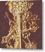 Master Key Metal Print