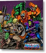 Masters Of The Universe Metal Print