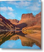 Mat Martin Point And The Colorado Metal Print