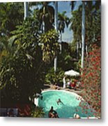 Mazatlan Mansion Metal Print
