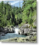 Mcdonald Creek 1 Metal Print