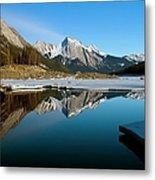 Medicine Lake, Jasper National Park Metal Print