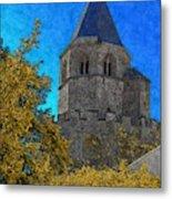 Medieval Bell Tower 3 Metal Print