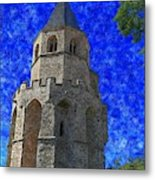 Medieval Bell Tower 4 Metal Print