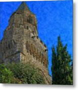 Medieval Bell Tower 5 Metal Print