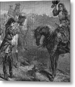 Meeting Of William IIi And The Duke Metal Print