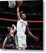 Melbourne United V Los Angeles Clippers Metal Print