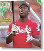 Memphis Chicks Bo Jackson, Class Aa Southern League Sports Illustrated Cover Metal Print