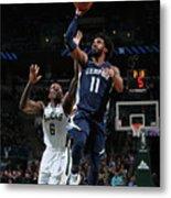 Memphis Grizzlies V Milwaukee Bucks Metal Print