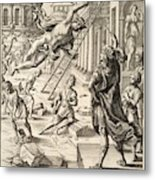 Mercury And Aeneas  State    Metal Print