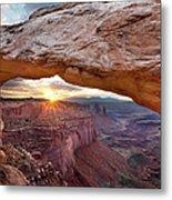 Mesa Arch, Canyonlands, Utah Metal Print