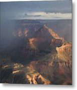 Mesmerized At Mather Point Metal Print