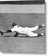 Mets Ron Swoboda Dives To Stab Brooks Metal Print
