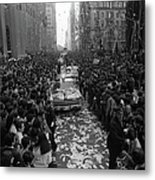 Mets Ticker Tape Parade Metal Print