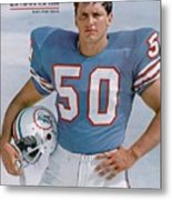 Miami Dolphins Frank Emanuel Sports Illustrated Cover Metal Print