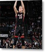 Miami Heat V Brooklyn Nets Metal Print