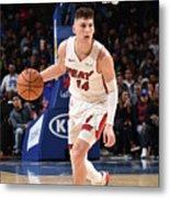 Miami Heat V Philadelphia 76ers Metal Print
