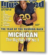 Michigan Mike Hart, 2007 College Football Preview Sports Illustrated Cover Metal Print