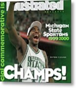 Michigan State University Mateen Cleaves, 2000 Ncaa Sports Illustrated Cover Metal Print