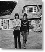 Mick & Keith In The Country Metal Print