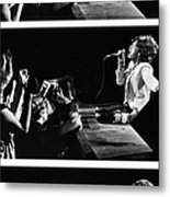 Mick Jagger Of The Rolling Stones In Metal Print