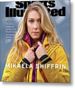 Mikaela Shiffrin, Sports Illustrated, March 2020 Sports Illustrated Cover Metal Print