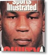 Mike Tyson, Heavyweight Boxing Sports Illustrated Cover Metal Print