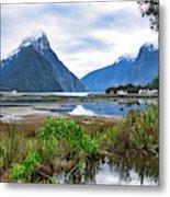 Milford Sound - New Zealand Metal Print